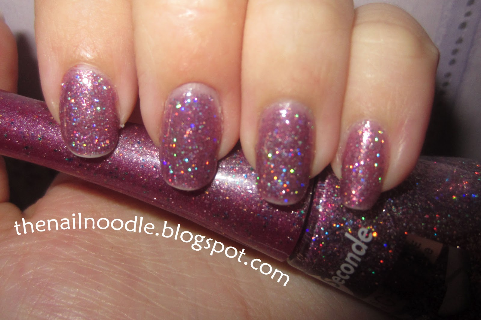 The Nail Noodle Bourjois 1 Seconde Rainbow Apparition Nail Polish