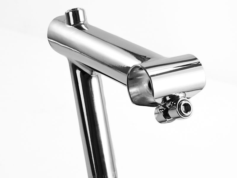 """Dia-Compe ENE-In Alloy Quill Handlebar Stem 25.4mm 1/"""" Silver or Black 80mm"""