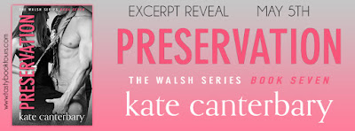 Excerpt Reveal & Giveaway: Preservation by Kate Canterbary