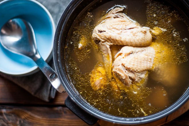 Magic Ingredients: Chicken Soup/Stock with Shiitake ...