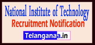 National Institute of Technology NIT Calicut Recruitment Notification 2017 Last Date 06-04-2017