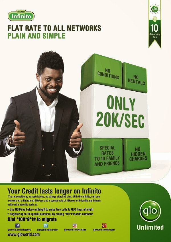 Glo Infinito Social Introduces Better Call Rates, Dethrones Glo Bounce