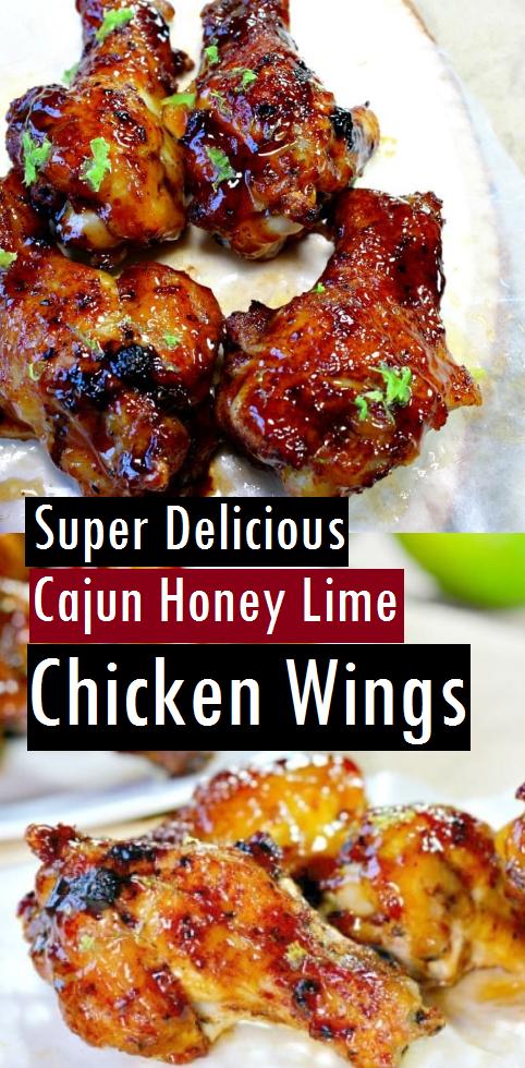 Super Delicious Cajun Honey Lime Chicken Wings