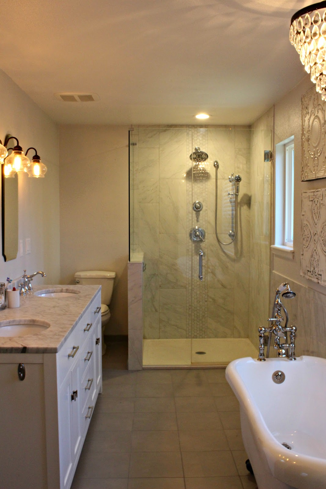 Kindred style master bathroom reveal for Master bath remodel 2016