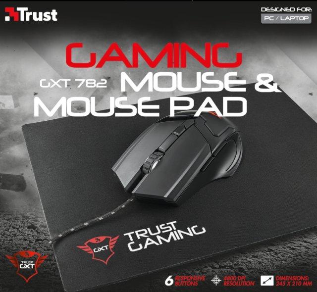mouse Trust GXT 782