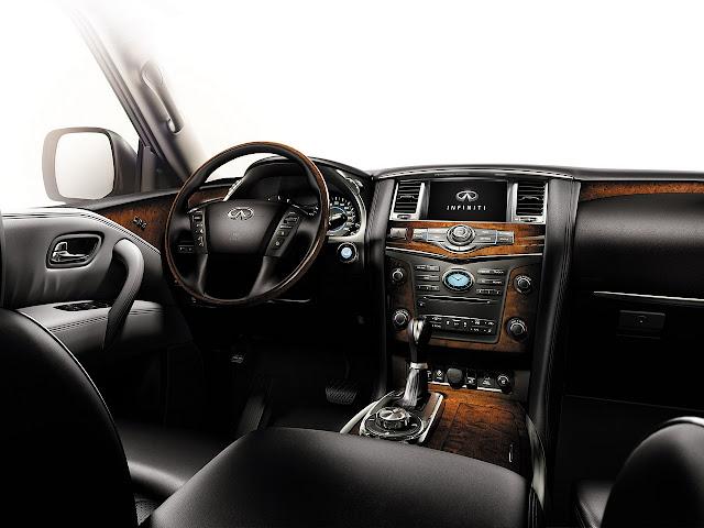 Infiniti QX56 V8 japoński klasa premium luksusowy komfortowy samochód
