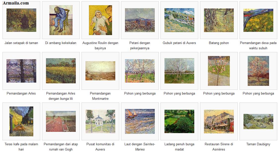 80 Contoh Lukisan Pemandangan Beserta Keterangannya HD Terbaru