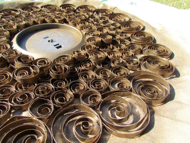 decora relojes espejos y flores con esta linda tcnica reciclando rollos de papel higinico