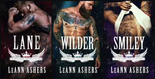 NEW COVERS FROM LEANN ASHERS!