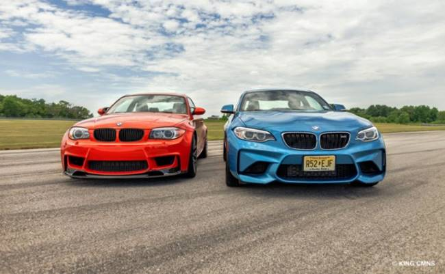 2016 BMW M2 vs BMW 1 Series M