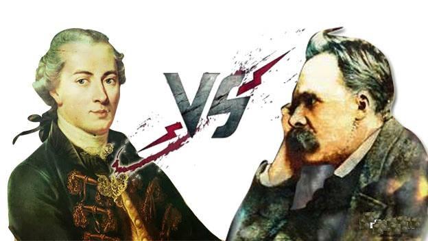 Nietzsche contra Kant, la lucha por la razón. Libros comparativos totalmente gratuitos