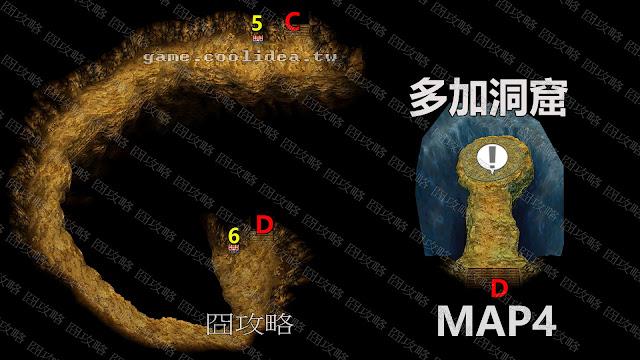 多加洞窟地圖4