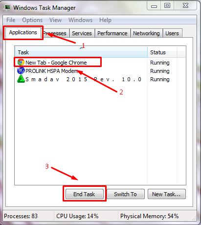 Cara Efektif Dan Ampuh  Mengatasi Program/Software Yang Not Responding Pada Windows
