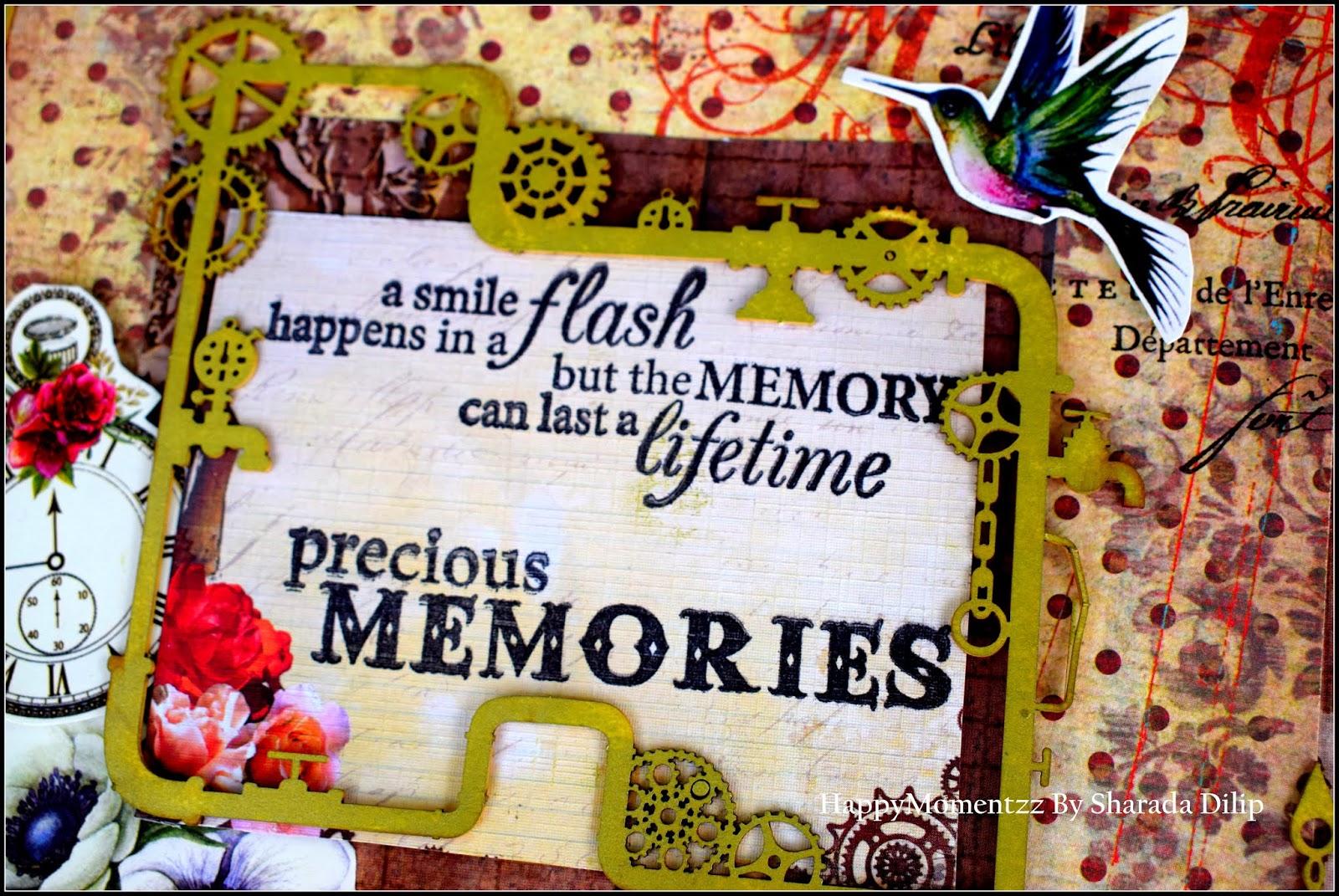 Happymomentzz Crafting By Sharada Dilip Handmade Farewell Scrapbook