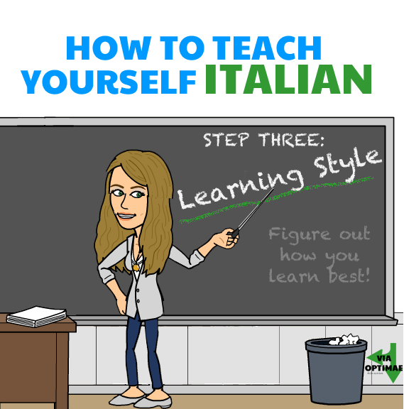 How to Teach Yourself…. Step 03: Learning Style: Figure out how you learn best!, Via Optimae, www.viaoptimae.com