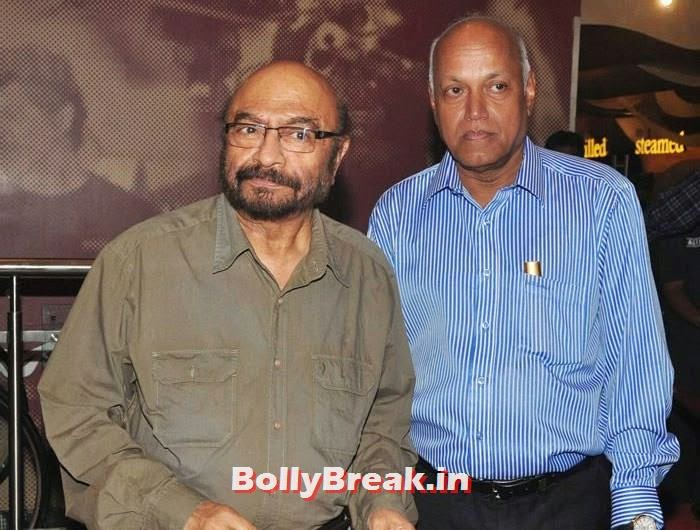 Govind Nihalani, Manmohan Shetty, 'The Hundred-Foot Journey' Movie Special Screening