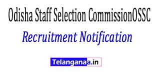 Odisha Staff Selection CommissionOSSC Recruitment Notification 2017