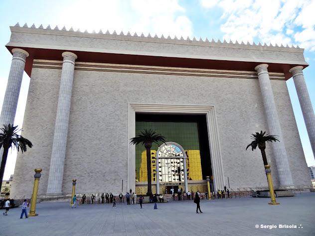 Fachada do Templo de Salomão - Bairro do Brás - São Paulo