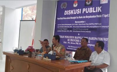 Bawaslu Lampung Sambut Baik Mappilu-PWI