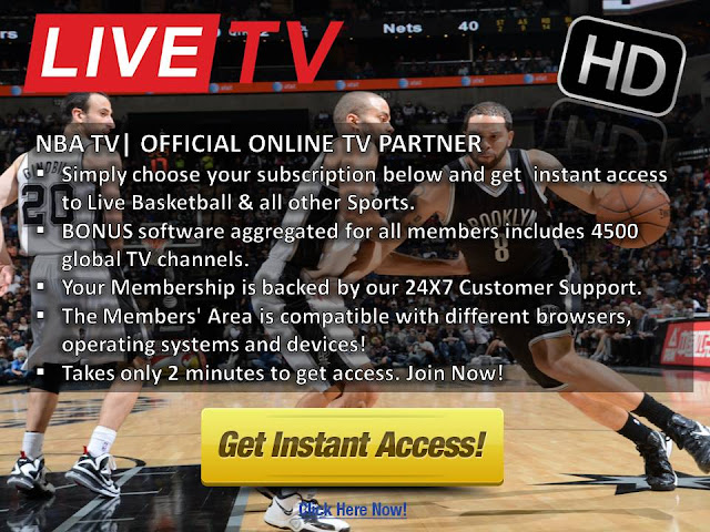 Watch Spurs v Nets Live Stream