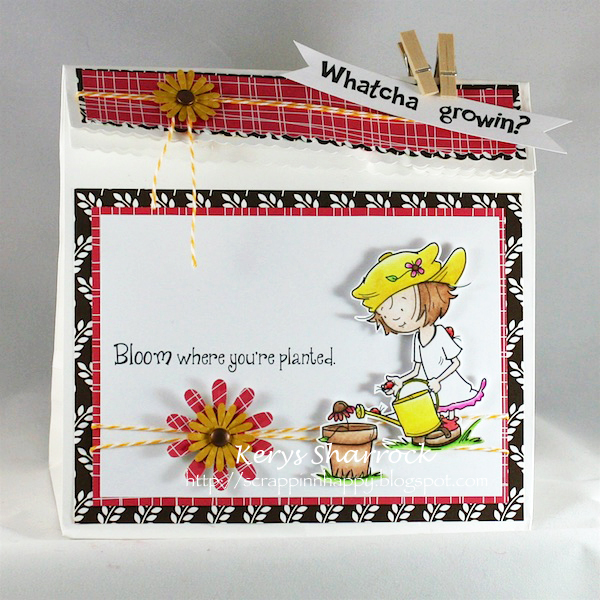 How To Make Gift Paper Bags With American Crafting
