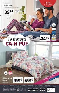 CATALOG LIDL 21 - 27 ianuarie 2019 promotii reduceri lenjerii de pat