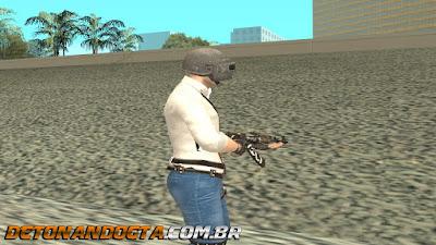 GTA SA - Skin PlayerUnknown's Battlegrounds