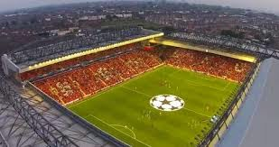 Anfield from the air