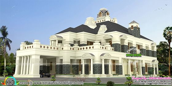 Super luxury colonial house