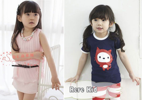 contoh baju anak perempuan branded