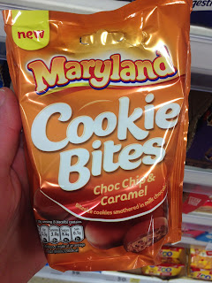 Maryland Cookie Bites Choc Chip & Caramel