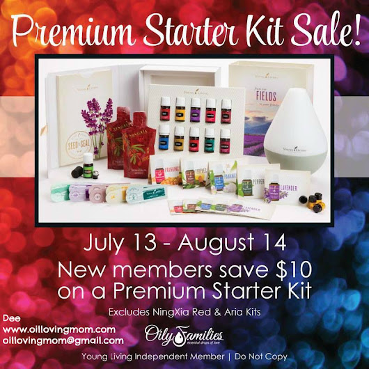 Young Living Essential Oils Premium Starter Kit SALE + Freebies + Facebook Class With GIVEAWAYS | Two of a kind, working on a full house