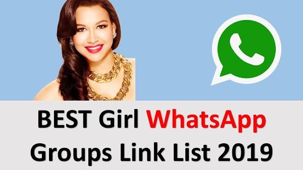 BEST Girls WhatsApp Groups Link List 2019