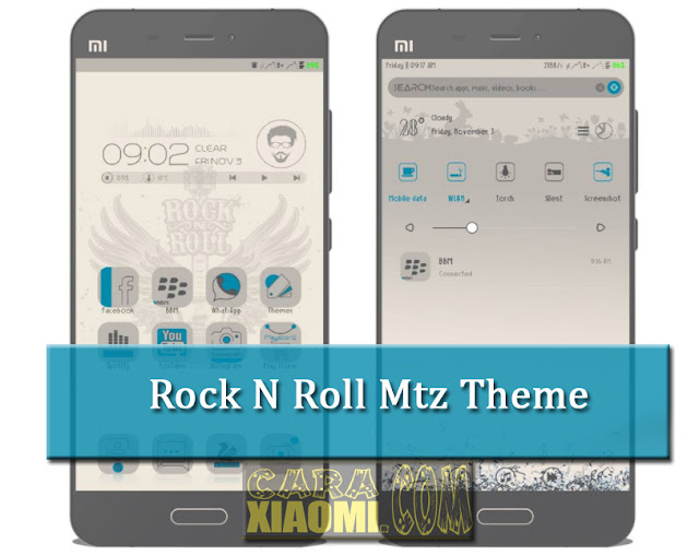 Themes For MIUI Rock n Roll Mtz by Pratama