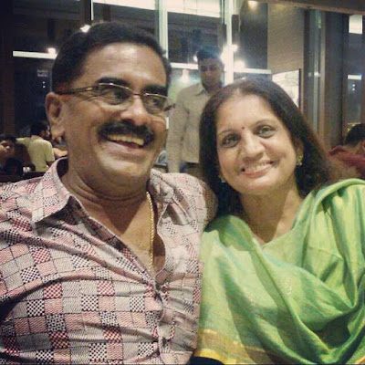 Meera Nandan Father and Mother
