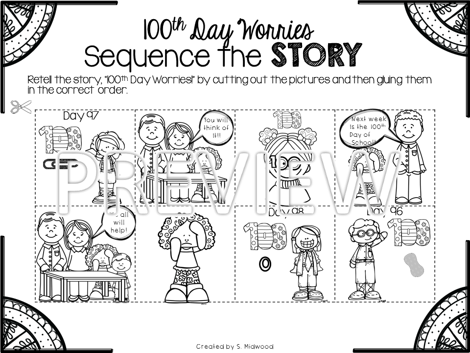 Lovin' Little Learners: Hip! Hip! Hooray! It is the 100th Day!
