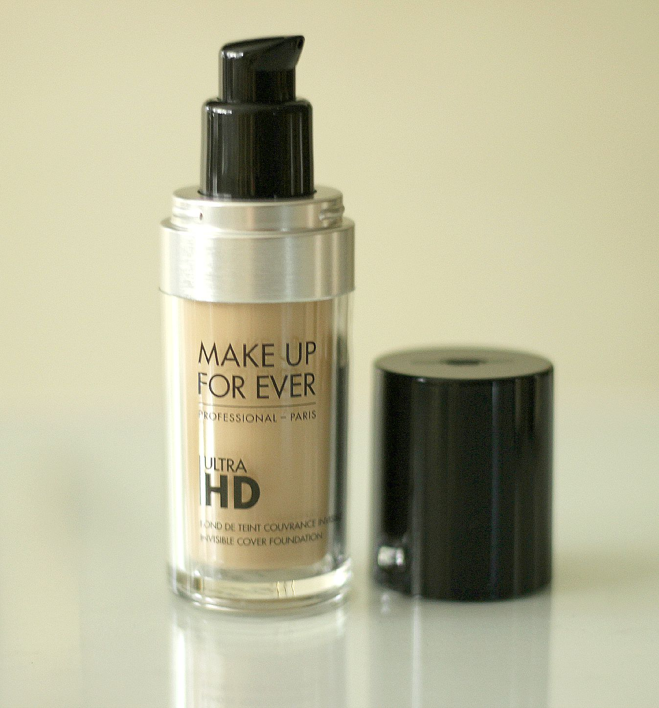 NEW Make Up For Ever Ultra HD Invisible Cover Foundation Y245 Review