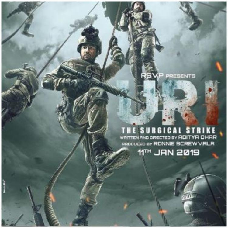 Vicky Kaushal, Yami film Uri: The Surgical Strike Crosses 108.90 Crore Mark in 10 Days, First Bollywood 100 Crore of 2019 Wikipedia