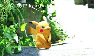 Imagem do Pikachu no Pokemon Go