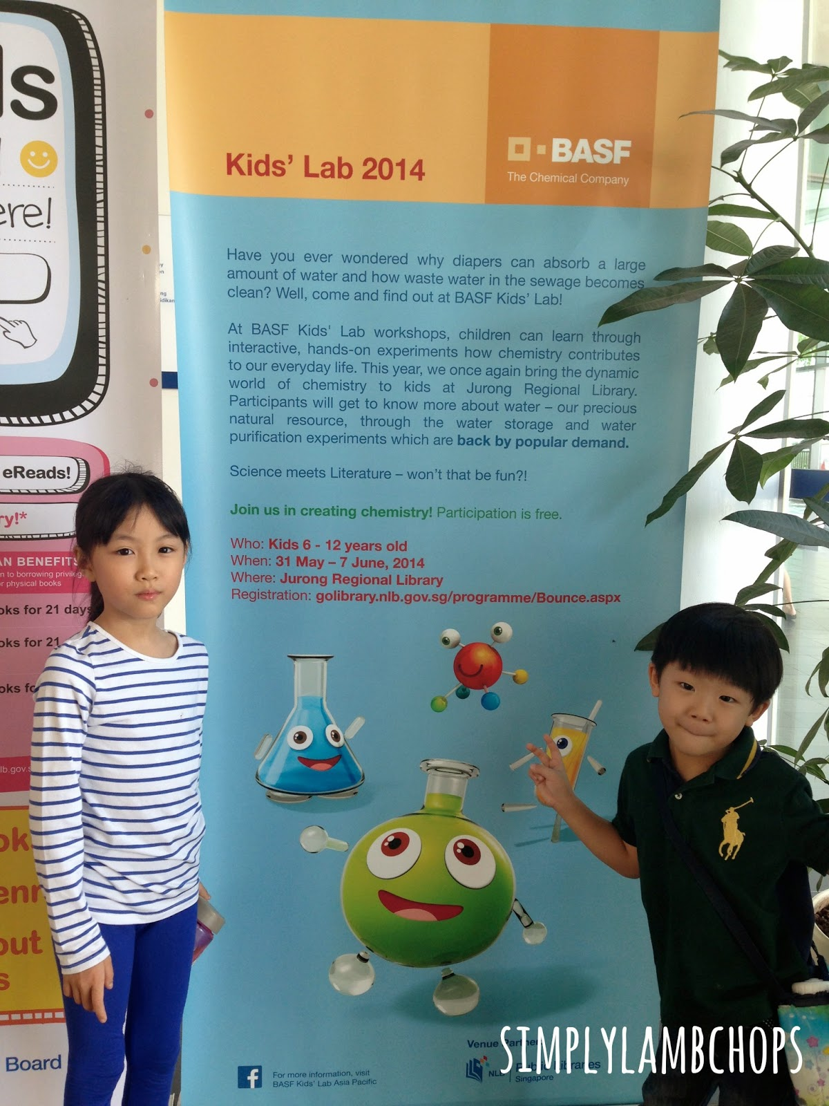 BASF Kids Lab workshop 2014 (Singapore) by Simply Lambchops
