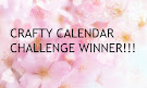 Winner Crafty Calendar February challenge