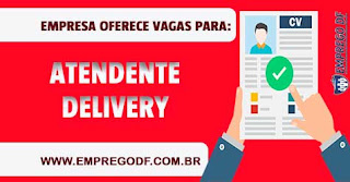 Atendente delivery