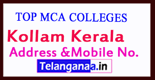 Top MCA Colleges in Kollam Kerala
