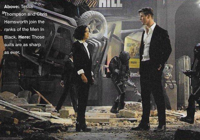 Chris Hemsworth e Tessa Thompson em novas imagens de