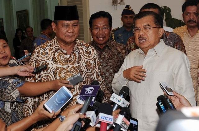 Elite Gerindra: Bayar Sesuai Permintaan JK, Prabowo Gak Pernah Nawar