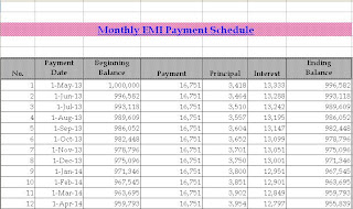 home loan interest home loan interest calculator india excel