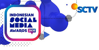Nominasi dan Pemenang Indonesian Social Media Awards 2016