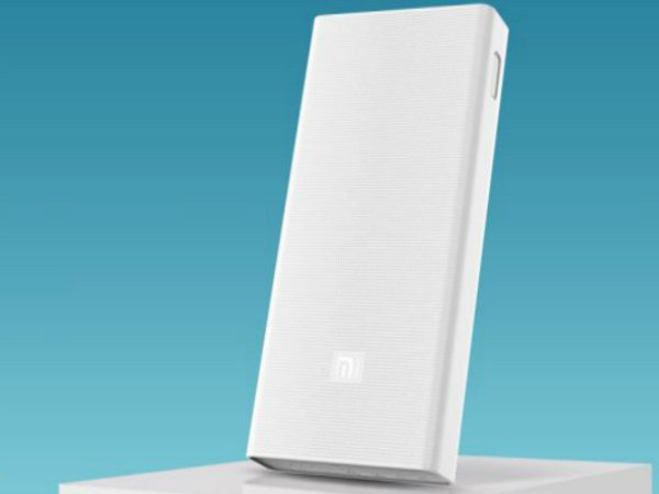 Xiaomi Launches 20000mAh Mi Power Bank With Quick Charge 3.0 Support