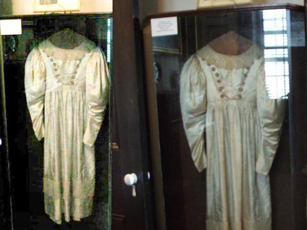 gaun pengantin berhantu yang di huni oleh hantu gentayangan