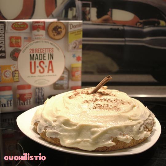Glaçage au Philadelphia pour cupcakes ou carrot cakes